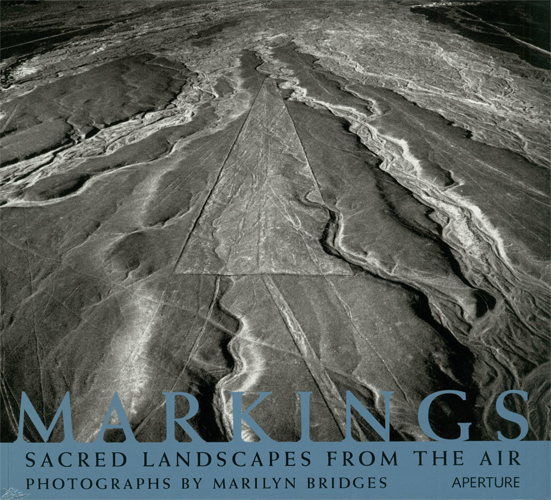 Markings. Sacred Landscapes from the air. copyright photographer Marilyn Bridges