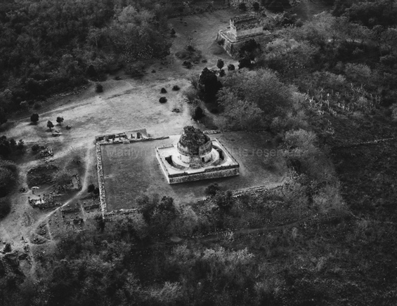 Chichen Itza, Caracol, 1982. Mexico. copyright photographer Marilyn Bridges