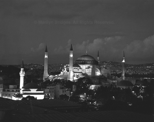 Hagia Sophia, Istanbul, 2004. copyright photographer Marilyn Bridges