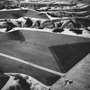 Farmers� Edge, the Badlands, South Dakota 1984. USA Midwest. copyright photographer Marilyn Bridges.