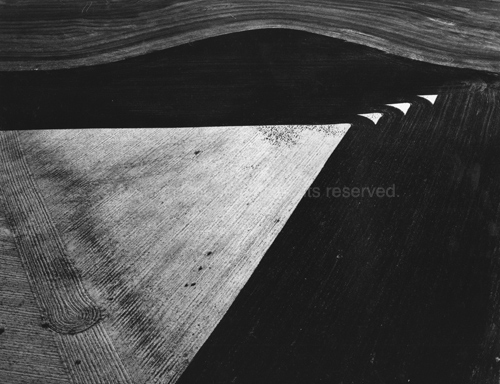 Geometrics, Lone Wolf, Oklahoma, 1987. USA Midwest. copyright photographer Marilyn Bridges.