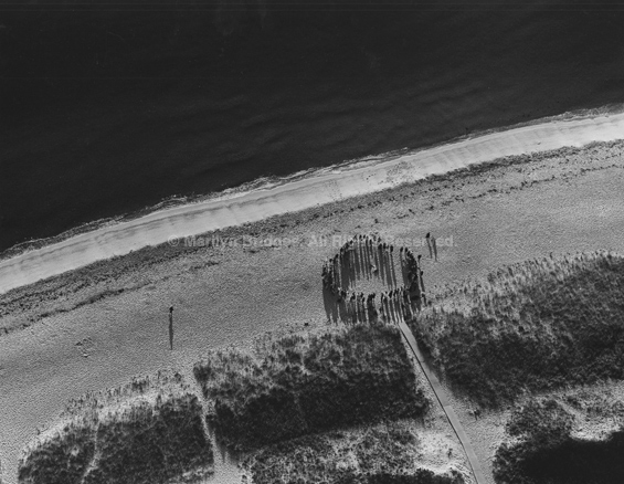 Funeral for a Friend, Oak Bluffs, Martha's Vineyard, Massachusetts, 1994. USA Northeast. copyright photographer Marilyn Bridges.
