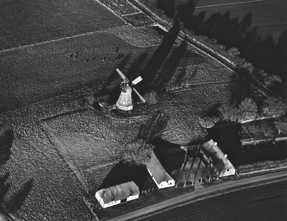 Windmill, South Zealand, Denmark, 1995. Europe North. copyright photographer Marilyn Bridges